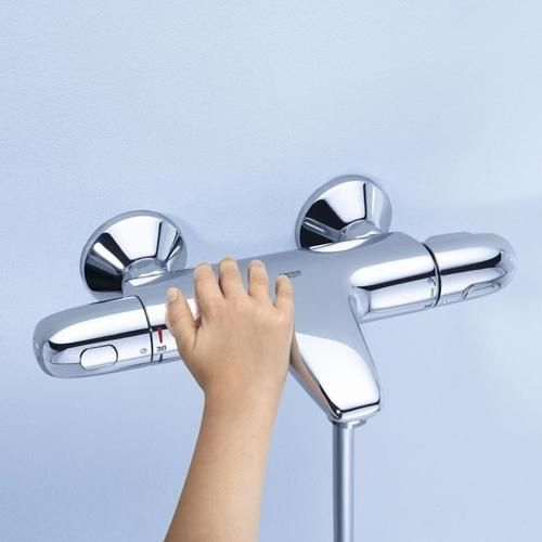 Grohe grohtherm 1000 mitigeur thermostatique bain douche 1 - Thermostatique douche grohe ...